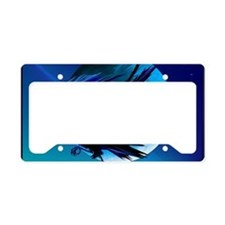 Raven and Moon-Yardsign License Plate Holder