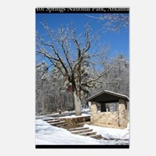 Winter in the Park Postcards (Package of 8)