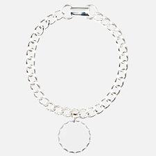 helvetica_65white Bracelet