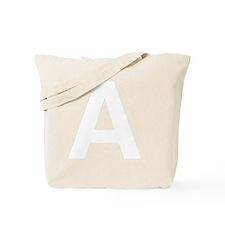 helvetica_a_white Tote Bag
