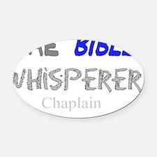 Chaplain Oval Car Magnet