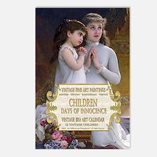 1 A VINTAGE CHILDREN- MUN Postcards (Package of 8)