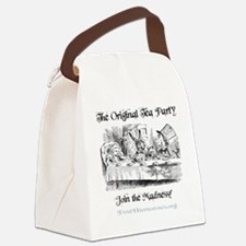 teaparty-light Canvas Lunch Bag