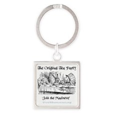 teaparty-light Square Keychain