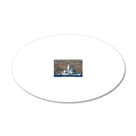 awradford large poster 20x12 Oval Wall Decal