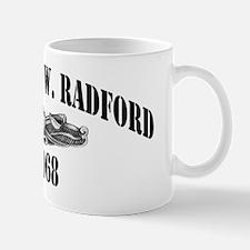 awradford blackletters Mug