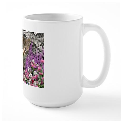 Emma in Flowers I Large Mug