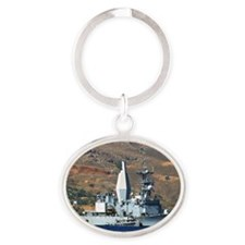 awradford small  poster Oval Keychain