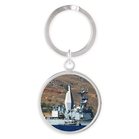 awradford small poster Round Keychain