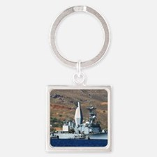 awradford small  poster Square Keychain
