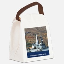 awradford note cards Canvas Lunch Bag