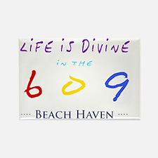 beachhaven Rectangle Magnet