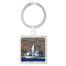 awradford note cards Square Keychain