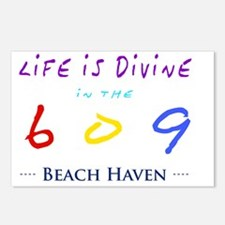 beachhaven Postcards (Package of 8)