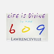 lawrenceville Rectangle Magnet