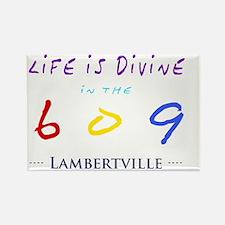 lambertville Rectangle Magnet