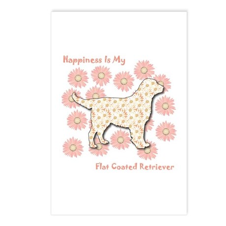Retriever Happiness Postcards (Package of 8)
