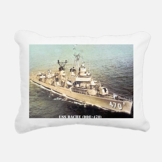 bache dde note card Rectangular Canvas Pillow
