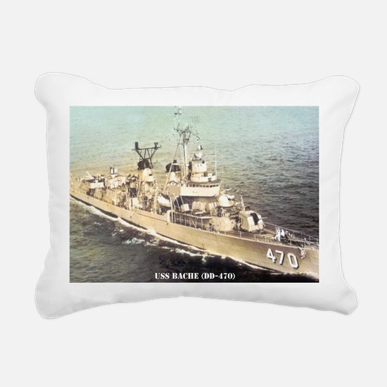 bache dd postcard Rectangular Canvas Pillow
