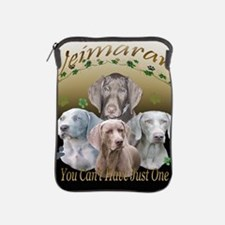 Weimaraner Cant Have Just One iPad Sleeve