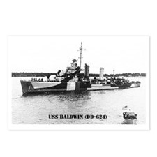 baldwin greeting card Postcards (Package of 8)
