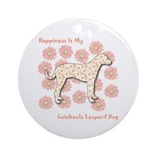 Catahoula Happiness Ornament (Round)