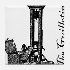 The Guillotine Tile Coaster