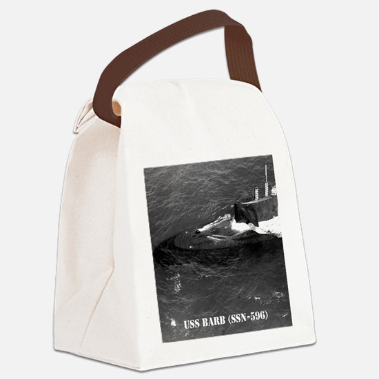 barb note card Canvas Lunch Bag