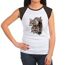 Clouded Leopard Cubs78 Women's Cap Sleeve T-Shirt