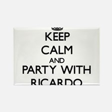 Keep Calm and Party with Ricardo Magnets