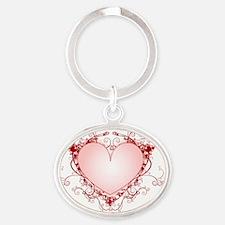 00433219 Oval Keychain