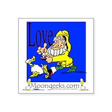 "KF-[ Love](CS)-11.004 Square Sticker 3"" x 3"""