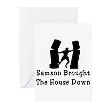 Samson Greeting Cards (Pk of 10)