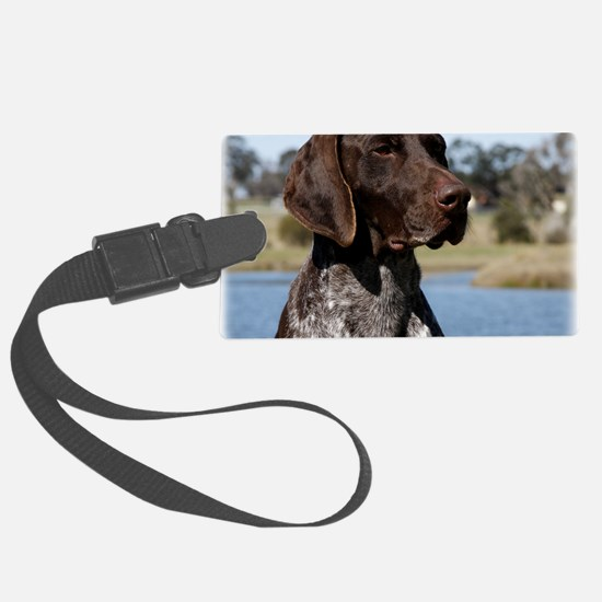 German Shorthaired Pointer 9Y832 Luggage Tag