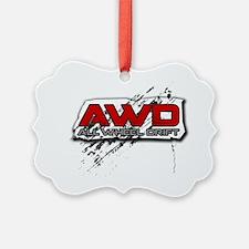 All Wheel Drift - Copy Ornament