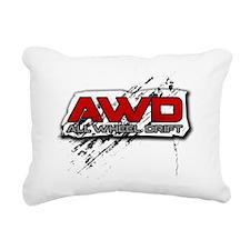 All Wheel Drift - Copy Rectangular Canvas Pillow