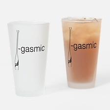 Oargasmic.eps Drinking Glass