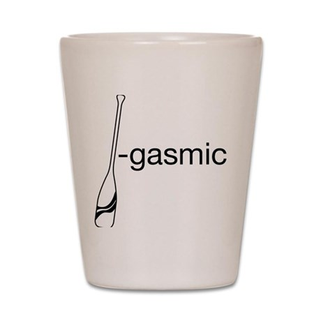 Oargasmic.eps Shot Glass