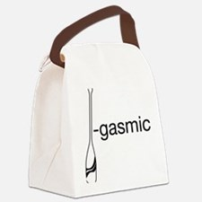 Oargasmic.eps Canvas Lunch Bag