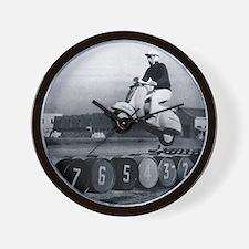 Stunt Scooter Wall Clock