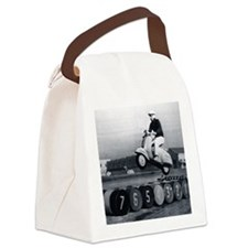 Stunt Scooter Canvas Lunch Bag