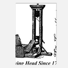 Guillotine_head Postcards (Package of 8)