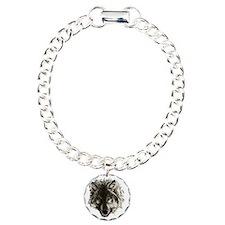 wolf port_dark Charm Bracelet, One Charm