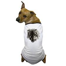 wolf port_dark Dog T-Shirt