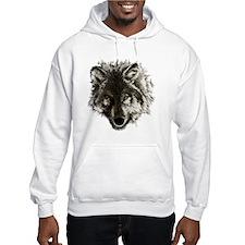 wolf port_dark Hoodie