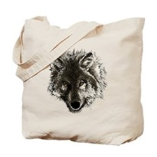 wolf port_dark Tote Bag