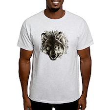 wolf port_dark T-Shirt