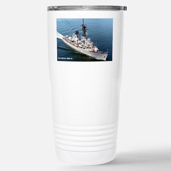 barney sticker Stainless Steel Travel Mug