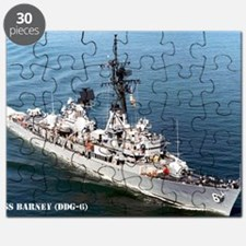 barney large framed print Puzzle
