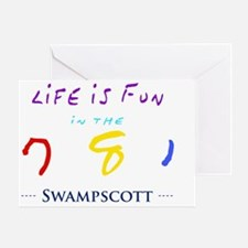 swampscott Greeting Card